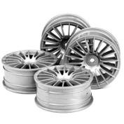 51046 1/10 Med Narrow 18-Spoke Wheels
