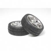 5-Spoke Metal Plated Wheel with Cemntd Radial Tyre