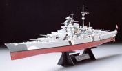 Tamiya 78013 1350 German Battleship Bismarck Model Kit