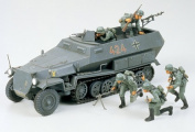 Military Minatures German Hanomag Sd.kfz. 251/1 - 1:35 Scale Military - Tamiya