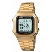 Casio Digital Mens Watch A178WGA-1A