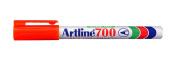 Artline 700 Fine Bullet 0.7mm  Orange BX12