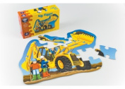 Orchard Toys - Big Digger Shaped Floor Puzzle