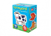 Orchard Toys -Six Farmyard First Puzzles-2pcs