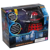 Doctor Who 15cm Infrared Battle RC Red Dalek Drone