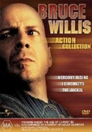 Bruce Willis Action Collection (Jackal / Mercury Rising / 12 Monkeys)