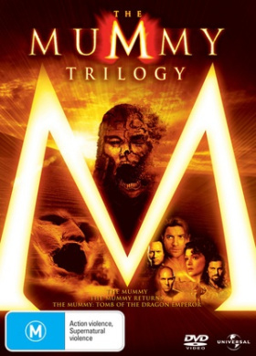 The Mummy Trilogy (The Mummy / The Mummy Returns / The Mummy: Tomb of the Dragon Emperor) (3 Discs)