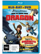 How To Train Your Dragon Combo [Blu-ray] [Region B] [Blu-ray]