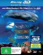 Dolphins and Whales / Ocean Wonderland / Sharks  [Region B] [Blu-ray]
