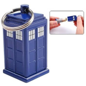 China Industries Stuff Doctor Who Tardis Emergency Fund Keyring
