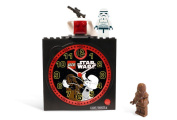 Lego Star Wars Clock with Bonus Building toy