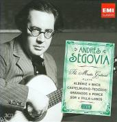 Icon - Andr's Segovia - The Master Guitarist Plays Alb'niz, Bach, Castelnuovo-Tedesco, et al