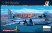 ITALERI 1:72 Aircraft No 1255 C-130J Hercules PRM Edition Model Kit