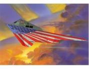 ITALERI 1:72 Aircraft No 1264 F-117A Nighthawk Stars & Stripes Model Kit