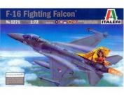 ITALERI 1:72 Aircraft No 1271 F-16A/B Fighting Falcon Model Kit
