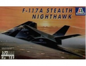 ITALERI 1:72 Aircraft No 189 F-117A Nighthawk Model Kit