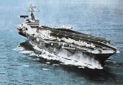 Italeri 510000503 Scale Model 1:720 USS Nimitz CV-68