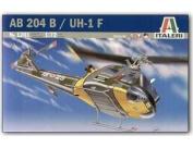 ITALERI 1:72 Aircraft No 1201 AB-204 B Huey Model Kit