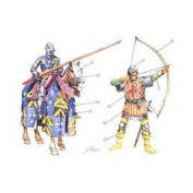 100 Years War - English Knights and Archers - 1:72 Scale - 6027 - Italeri