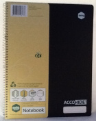 Accohide Notebook A4 120 Page