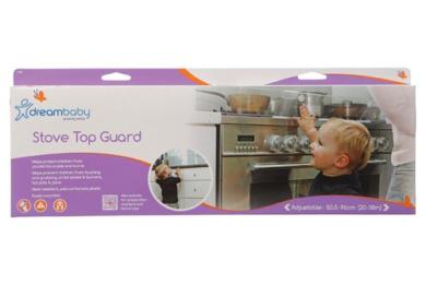 Dreambaby Stove Top Guard (Transparent)