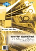 Zions Recordex Account Book