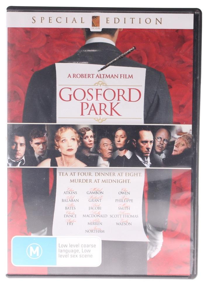 gosford park full movie watch online