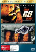 Gone in 60 Seconds (Director's Cut) / Con Air (Extended Edition)  [Region 4]