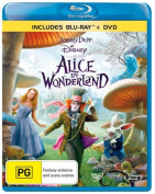 Alice in Wonderland (2010)  [Region B] [Blu-ray]