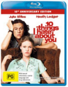 10 Things I Hate About You  [Region B] [Blu-ray]