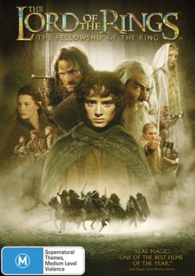 the lord of the rings fellowship of the ring bonus disc