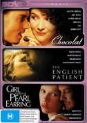 Chocolat / The English Patient / Girl With A Pearl Earring  [3 Discs] [Region 4]