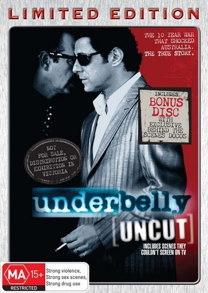 Underbelly (Uncut Limited Edition) (Steelbook) NOT TO BE SOLD IN VICTORIA