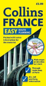 Easy Route Planning Map France