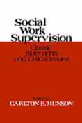Social Work Supervision