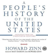A People's History of the United States CD [Audio]