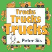 Trucks Trucks Trucks Board Book [Board Book]