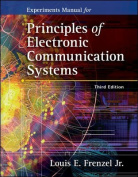 Experiments Manual to Accompany Principles of Electronic Communications Systems