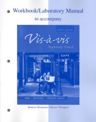 Workbook/Lab Manual to Accompany Vis- -vis