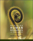 Managing Human Resources in New Zealand 2e