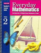 Everyday Mathematics, Grade 4, Teacher's Lesson Guide, Volume 2