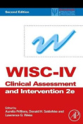 WISC-IV Clinical Assessment and Intervention