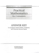 Pacemaker Practical Math Answer Key 2004