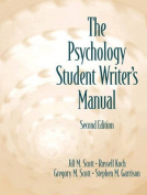 The Psychology Student Writer's Manual