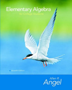 Elementary Algebra for College Students [With CD-ROM]