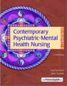 Contemporary Psychiatric-Mental Health Nursing [With CDROM]