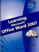 Learning Microsoft Word 2007