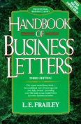 Handbook of Business Letters