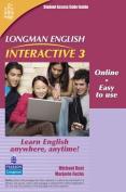Longman English Interactive 3, Online Version, British English