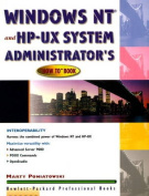 """The Windows NT and HP-UX System Administrator's """"How to"""" Book"""